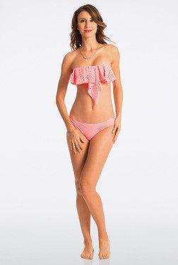 Pretty Secrets Pink Strapless Bikini Set