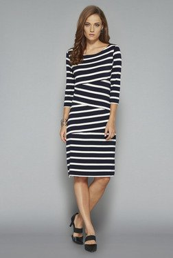 Wardrobe Navy Liz Dress