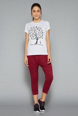 Westsport Womens Ecru Printed T Shirt