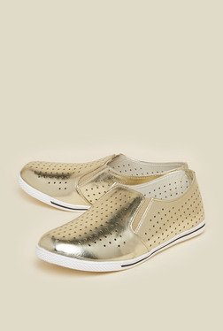 Zudio Gold Causal shoes