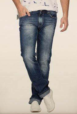 Spykar Blue Slim Fit Denim Jeans