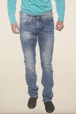 Spykar Blue Low Rise Denim Jeans - Mp000000000222493