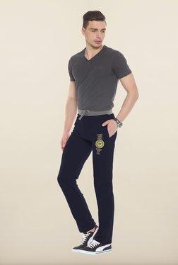 Sweet Dreams Navy Solid Cotton Pajamas - Mp000000000226612