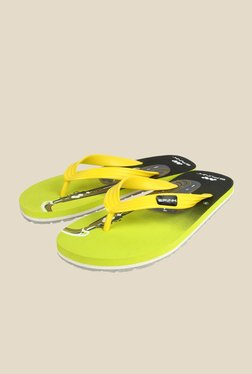 Spunk Saxophone Yellow & Green Slippers