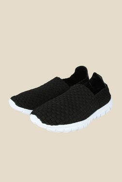 Spunk Weave Black & White Casual Shoes