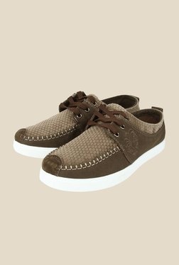 Spunk Roadster Brown Sneakers