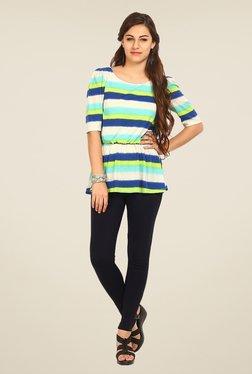 Avirate Multicolor Striped Top