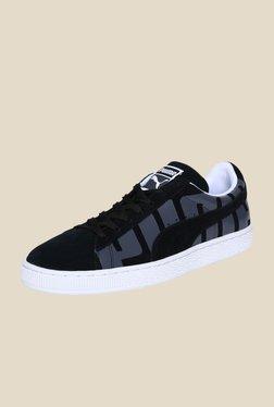 Puma Suede Classic Black & Grey Sneakers