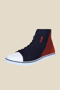 Puma Streetballer Mid Geo DP Grenadine White Sneakers
