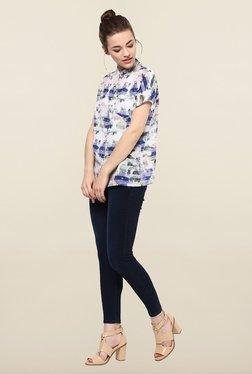 Femella Multicolor Floral Print Casual Shirt