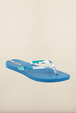 Ipanema Clear Blue Flip Flops