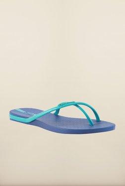 Ipanema Turquoise & Blue Flip Flops