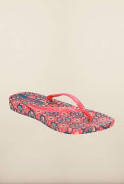 Ipanema Red & Blue Flip Flops
