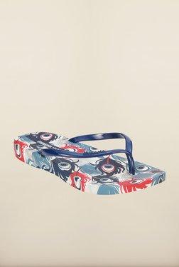 Ipanema Navy & White Flip Flops