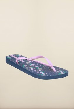 Ipanema Lilac & Blue Flip Flops