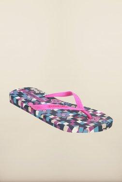 Ipanema Pink & Blue Flip Flops