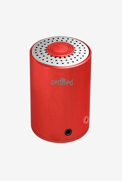Certified USA Spbt100R Mini Portable Speaker (Red)