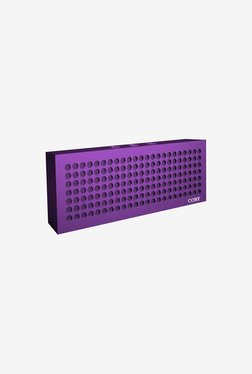 Coby Aluminum Brick Bluetooth Speaker (Purple)