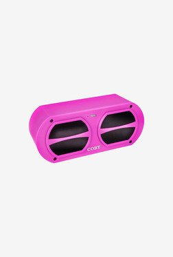 Coby CSBT-309-PNK Portable Bluetooth Speaker (Pink)