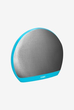 Coby CSBT-313-BLU Portable Bluetooth Speaker (Blue)