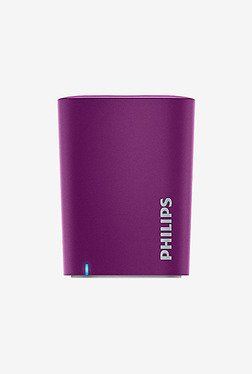 Philips Bt100V/27 Mini Portable Bluetooth Speaker (Violet)