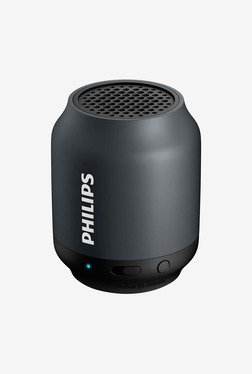 Philips Bt50B/37 Mini Portable Bluetooth Speaker (Black)
