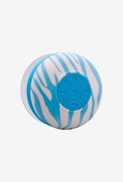 Aduro AS-WSP20-ZB06 Bluetooth Speaker (Blue Zebra)