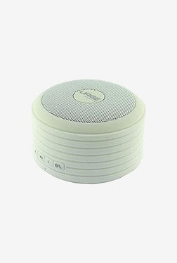 Urge Basics Bluetooth Disc Speaker (with Built-in Mic White)