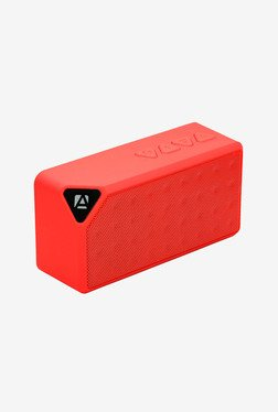 Aduro SB05-BSP Bluetooth Speaker (Red)
