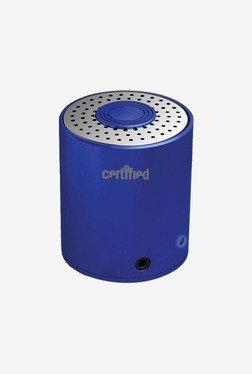 Certified SPBT100BL Mini Portable Bluetooth Speaker (Blue)