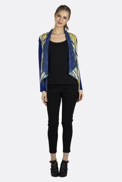 Fusion Beats Multicolor Striped Shrug