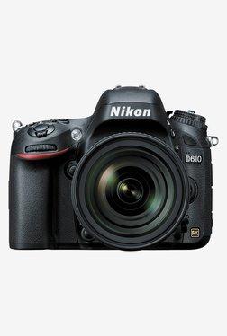 Nikon D610 DSLR Camera With AF-S 24-85mm VR Lens (Black)
