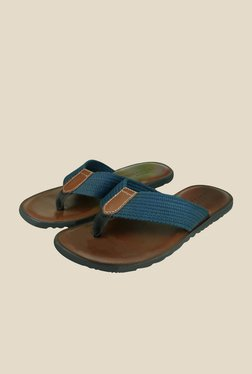 US Polo Assn. Navy & Brown Casual Thongs