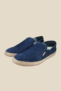 US Polo Assn. Navy Plimsoll Shoes
