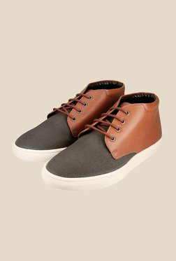 US Polo Assn. Brown & Grey Chukka Shoes