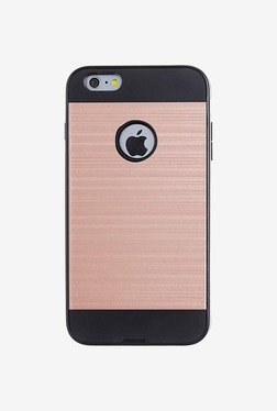 Amzer Hybrid Metto Case For IPhone 6/6S (Rose Gold & Black)