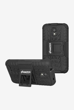 "Amzer Hybrid Warrior Case for OneTouch Pixi 4 3.5"" (Black)"