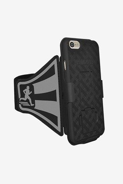 Amzer Shellster Armband for iPhone 6/6S (Black)