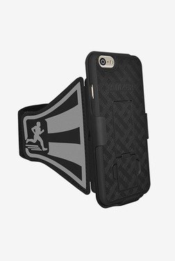 Amzer Shellster Armband for iPhone 6 Plus/6S Plus (Black)