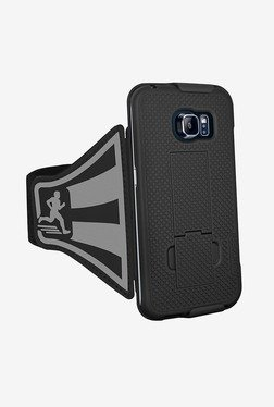 Amzer Shellster Armband for Samsung Galaxy S6 edge (Black)