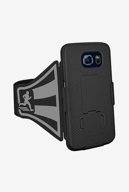 Amzer Shellster Armband for Samsung Galaxy S6 (Black)