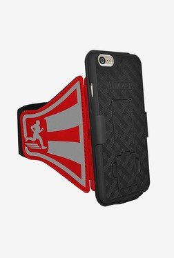 Amzer Shellster Armband for iPhone 6/6s (Red)