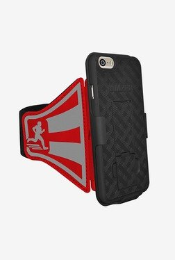 Amzer Shellster Armband for iPhone 6 Plus/6s Plus (Red)