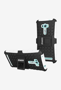 Amzer Hybrid Warrior Case For Zenfone Selfie ZD551KL (Black)