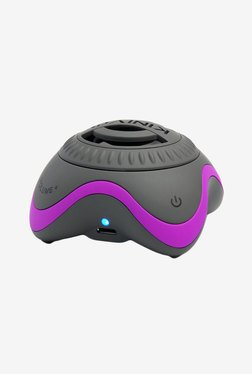Kinivo ZX100 Mini Portable Wireless Speaker (Purple & Grey)