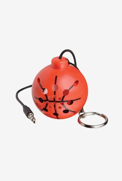 Perfect Life Ideas Sports Ball Shaped Speaker (Orange)