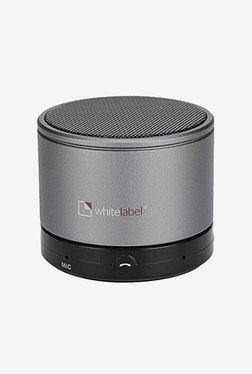 White Label Mini Bluetooth Speaker (Grey)