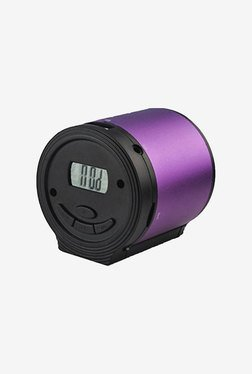 Qfx Cs181Pu Portable Multimedia Speaker (Purple)