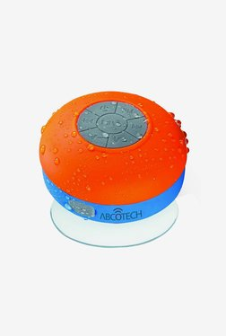 Abco Tech Water Resistant Bluetooth Shower Speaker (Orange)