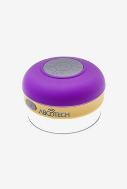 Abco Tech Water Resistant Bluetooth Shower Speaker (Purple)